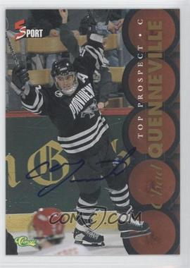 1995 Classic 5 Sport - [Base] - Non-Numbered Autographs [Autographed] #CHQU - Chad Quenneville