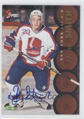 1995 Classic 5 Sport - [Base] - Non-Numbered Autographs [Autographed] #DESM - Derrick Smith