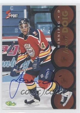 1995 Classic 5 Sport - [Base] - Non-Numbered Autographs [Autographed] #JADO - Jason Doig