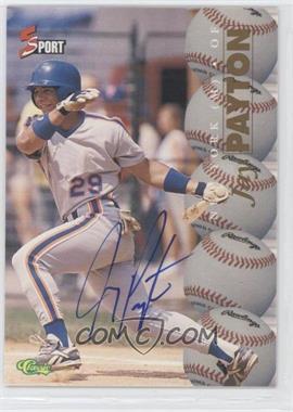 1995 Classic 5 Sport - [Base] - Non-Numbered Autographs [Autographed] #JAPA - Jay Payton