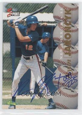 1995 Classic 5 Sport - [Base] - Numbered to 225 Autographs [Autographed] #RYJA - Ryan Jaroncyk /225