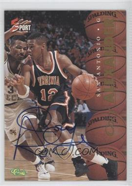 1995 Classic 5 Sport Non-Numbered Autographs [Autographed] #COAL - Cory Alexander /225