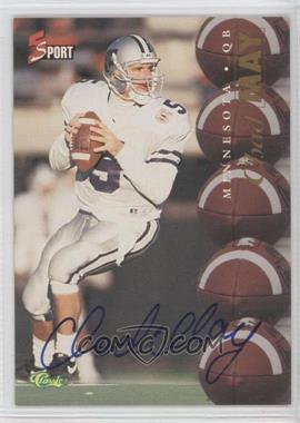 1995 Classic 5 Sport Non-Numbered Autographs [Autographed] #N/A - Chris Dalman
