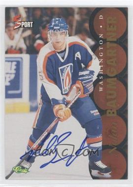 1995 Classic 5 Sport Non-Numbered Autographs [Autographed] #N/A - Nolan Baumgartner