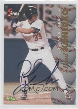 1995 Classic 5 Sport Non-Numbered Autographs [Autographed] #N/A - Paul Konerko