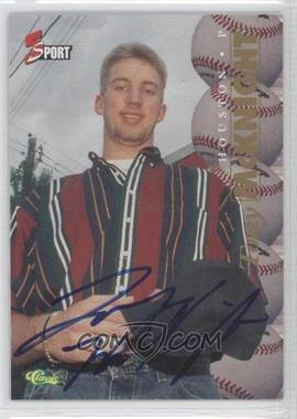 1995 Classic 5 Sport Non-Numbered Autographs [Autographed] #N/A - Tom McGraw