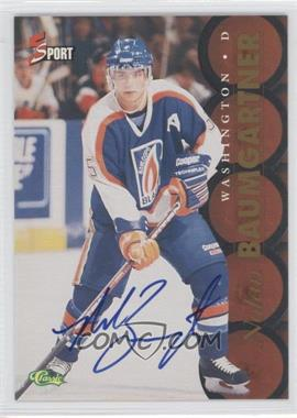 1995 Classic 5 Sport Non-Numbered Autographs [Autographed] #NOBA - Nolan Baumgartner