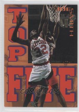 1995 Signature Rookies Tetrad - Top Five #T1 - Joe Smith