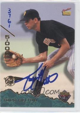 1995 Signature Rookies Tetrad Autographs #58 - Todd Helton /5000