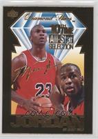 Michael Jordan 10th All-Star Selection (Upper Deck)