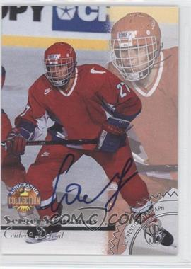 1996 Score Board Autographed Collection Autographs #SESA - Sergei Samsonov