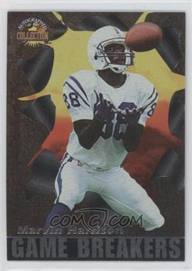 1996 Score Board Autographed Collection Game Breakers #GB26 - Marvin Harrison