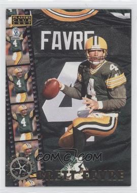 1997 Score Board Players Club Play Back #PB1 - Brett Favre