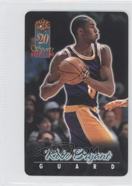 1997 Score Board Talkn' Sports $20 Phone Cards #6 - Kobe Bryant /1440