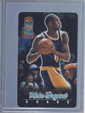 1997 Score Board Talkn' Sports $20 Phone Cards #6 - Kobe Bryant /1440