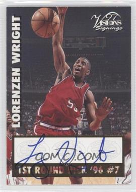 1997 Score Board Visions Signings Signings #LOWR - Lorenzen Wright