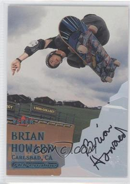 2000 Fleer Adrenaline - [Base] - Autographs [Autographed] #BRHO - Brian Howard