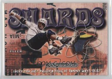 2000 Fleer Adrenaline - Shards #N/A - Danny Way
