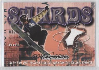 2000 Fleer Adrenaline - Shards #N/A - Tara Dakides