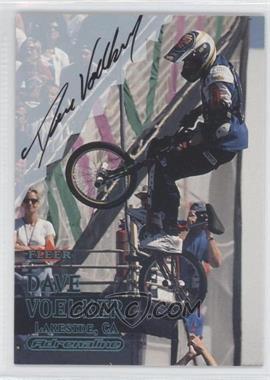 2000 Fleer Adrenaline Autographs [Autographed] #DAVO - Dave Voelker