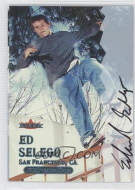 2000 Fleer Adrenaline Autographs [Autographed] #EDSE - Ed Selego
