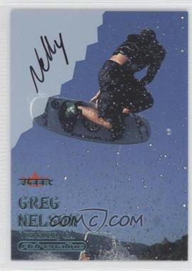 2000 Fleer Adrenaline Autographs [Autographed] #GRNE - Greg Nelson