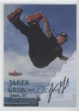 2000 Fleer Adrenaline Autographs [Autographed] #JAGR - Jaren Grob