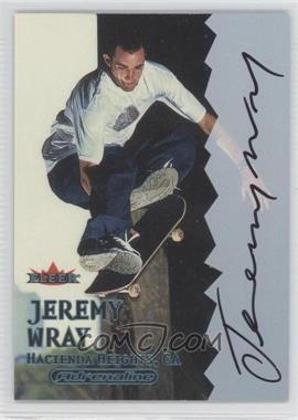 2000 Fleer Adrenaline Autographs [Autographed] #N/A - Jeremy Wray