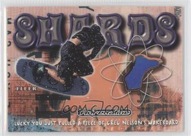 2000 Fleer Adrenaline Shards #N/A - Greg Nelson