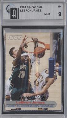 2001-05 Sports Illustrated for Kids - [Base] #264 - Lebron James [GAI9]