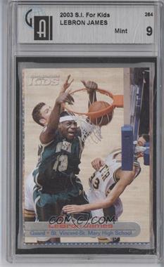 2001-05 Sports Illustrated for Kids #264 - Lebron James [GAI9]