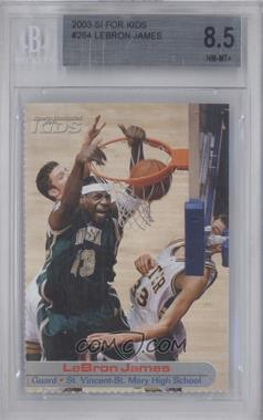 2001-05 Sports Illustrated for Kids #264 - Lebron James [BGS 8.5]