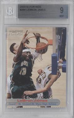 2001-05 Sports Illustrated for Kids #264 - Lebron James [BGS9]