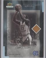 Michael Jordan UNC Game Used Floor /2100