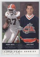 First Class Rookies - Andre Davis, Rick Nash