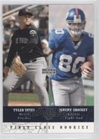 First Class Rookies - Jeremy Shockey, Tyler Yates