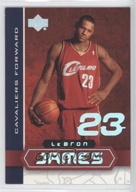 2002-03 Upper Deck UD Superstars - Lebron James #LBJ-5 - Lebron James