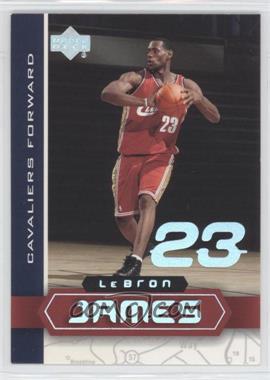 2002-03 Upper Deck UD Superstars - Lebron James #LBJ-6 - Lebron James