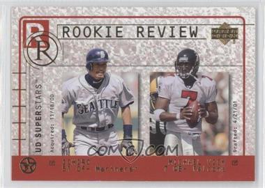 2002-03 Upper Deck UD Superstars - Rookie Review #R2 - Ichiro Suzuki, Michael Vick