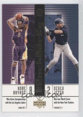 2002-03 Upper Deck UD Superstars BenchMarks #B10 - Kobe Bryant, Derek Jeter
