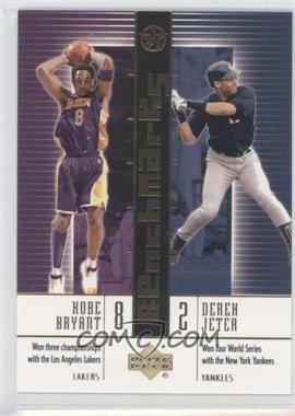 2002-03 Upper Deck UD Superstars BenchMarks #B10 - Kobe Bryant, Derek Jeter