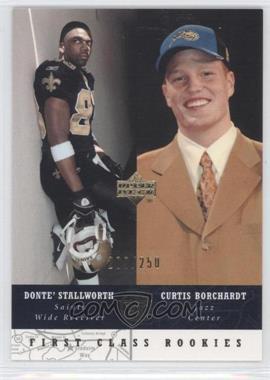 2002-03 Upper Deck UD Superstars Black #280 - Donte Stallworth, Curtis Borchardt /250