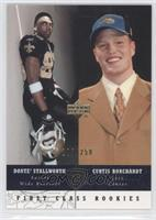 First Class Rookies - Curtis Borchardt, Donte' Stallworth /250