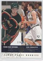 First Class Rookies - Igor Rakocevic, Pierre-Marc Bouchard /250