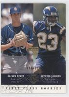 First Class Rookies - Quentin Jammer, Oliver Perez /250
