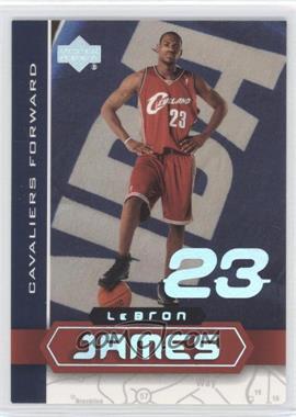 2002-03 Upper Deck UD Superstars Lebron James #LBJ-4 - Lebron James