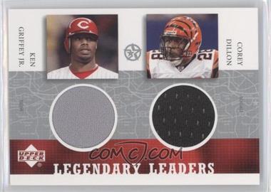 2002-03 Upper Deck UD Superstars Legendary Leaders Dual #JR/CD-L - Ken Griffey Jr., Corey Dillon