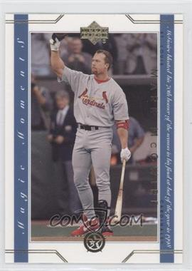 2002-03 Upper Deck UD Superstars Magic Moments #MM2 - Mark McGwire
