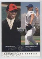 First Class Rookies - Francis Beltran, Jay Williams
