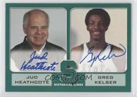 Jud Heathcote, Greg Kelser /200